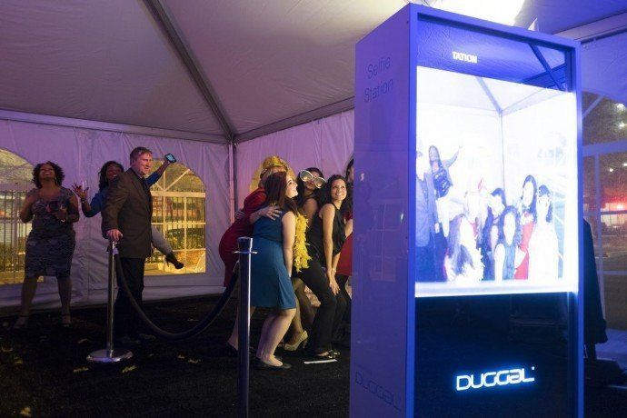 Projects: Printer Duggal Drives Digital-Centric Audible Holiday Party