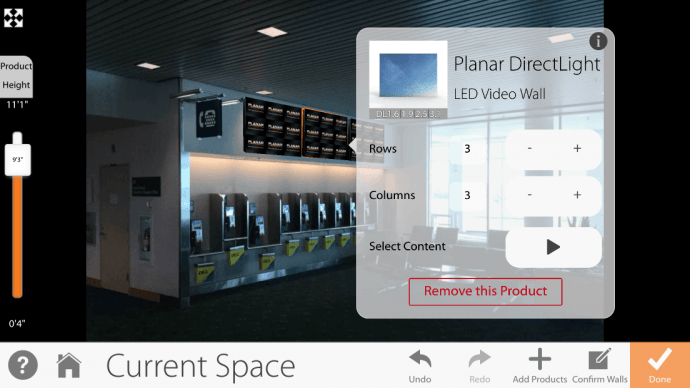 Planar Debuts Slick Tablet App To Visualize Video Walls During On-Site Planning