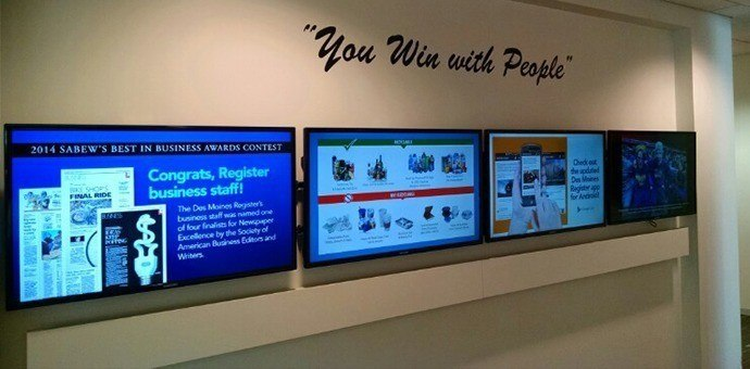 Employee Engagement Issues Solved With Digital Signage