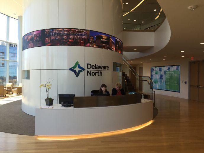 Projects: Delaware North Wraps New HQ Reception In LED