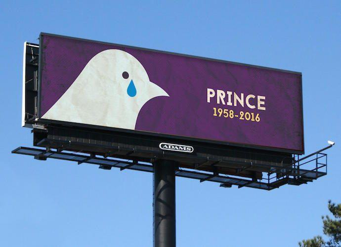 Digital OOH Mediacos Respond Quickly With Prince Tributes