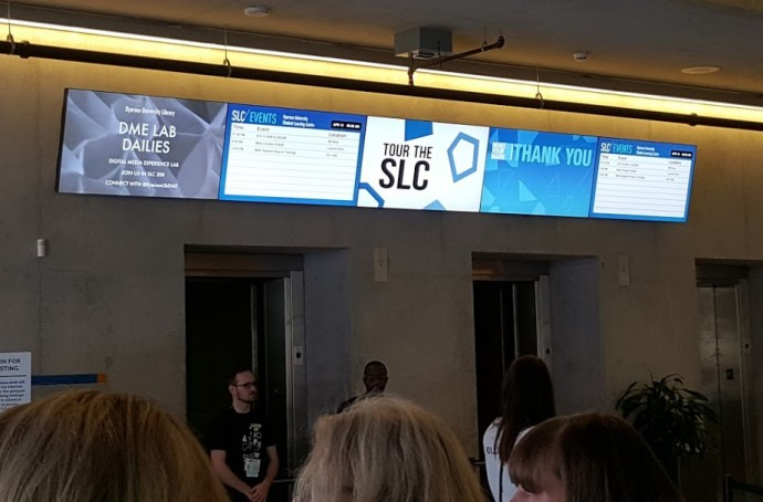 Projects: Ryerson's Tidy, Minimalist And Effective Digital Signage Set-Up