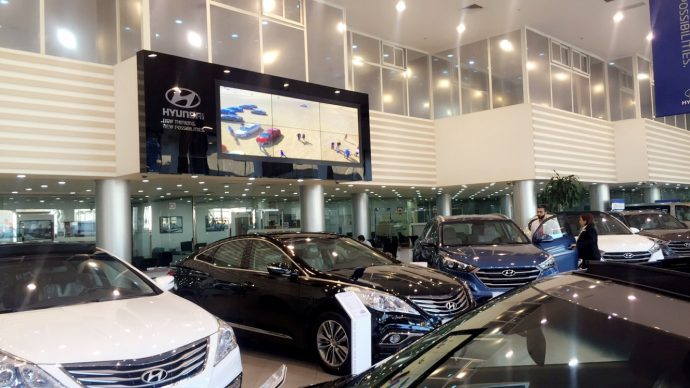 Projects: Hyundai's Kuwait Flagship Drives Big Video Walls