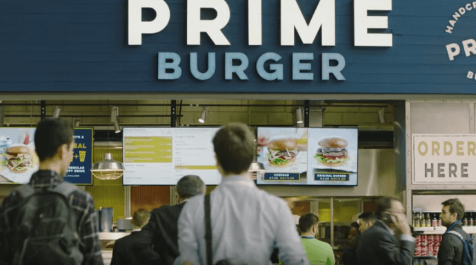 Projects: UK Burger Chain's Switch To Digital Menus Sees 50% Sales Boost