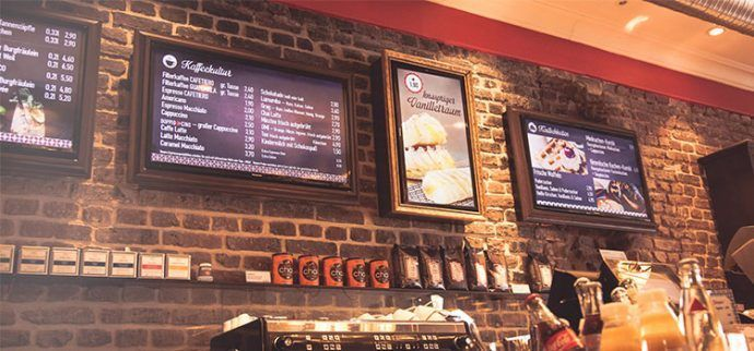 Projects: Cafetiero Frames Up Its Digital Menus