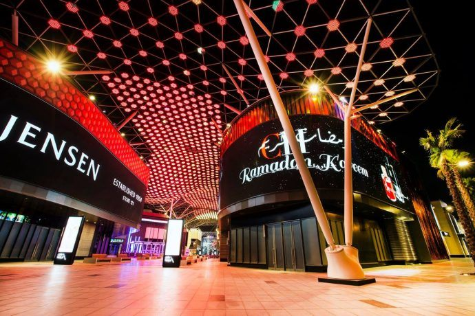 Projects: 80 Million Pixels Light Up At Dubai's New City Walk Market