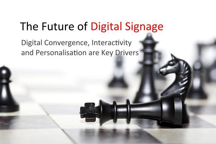 Digital Convergence, Interactivity And Personalization Key To Digital Signage's Future
