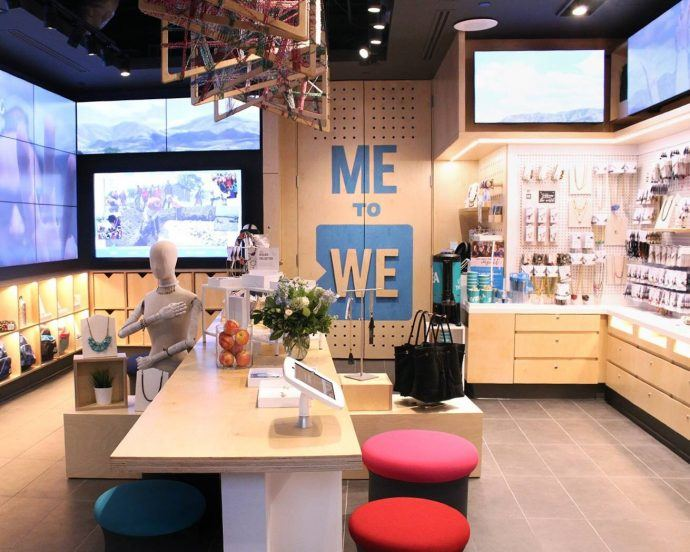 Projects: Me To We's First Bricks & Mortar Store Packs In A Lot Of Digital
