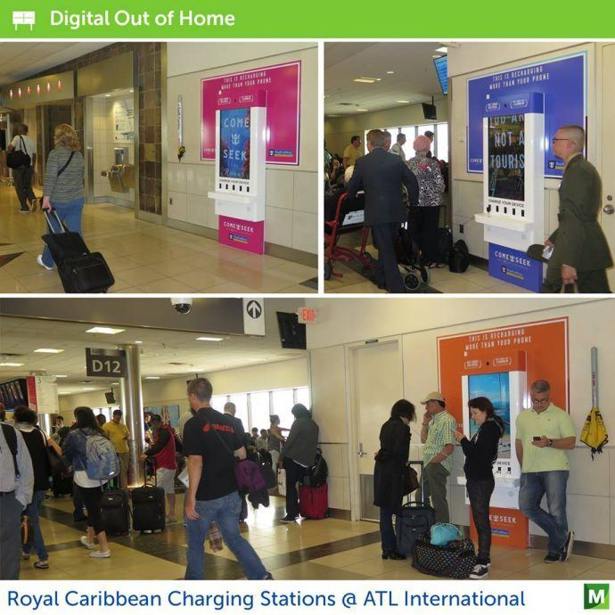 Projects: Monster's Nice Multimedia Charging Stations At ATL