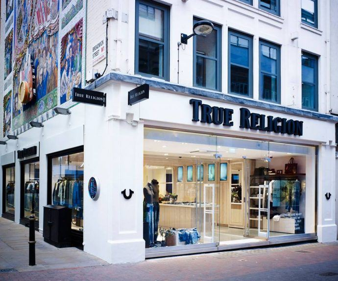 Projects: True Religion Goes Digital On Carnaby Street