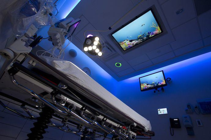 Projects: Digital Signs Sync'd With Audio, Lighting Ease Sick Kids' Fears