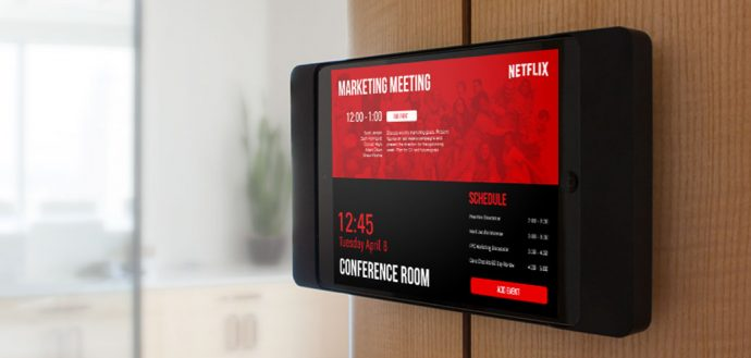 EventBoard Raises $13.5 M To Build Up Digital Meeting Room Sign Business