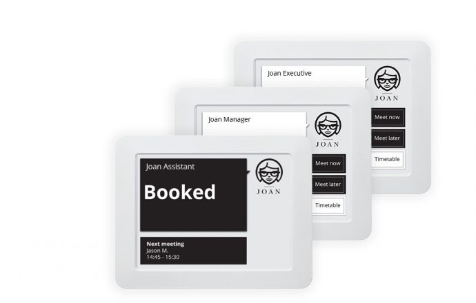 Visionect Broadens E-Ink Meeting Room Sign Options