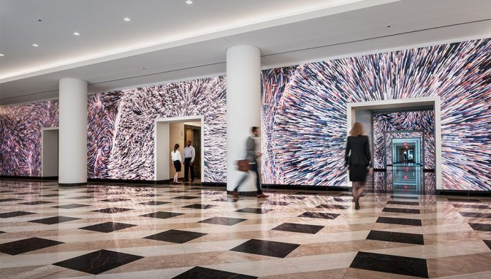 Projects: Amazing Motion-Sensing LED Lobby In DC