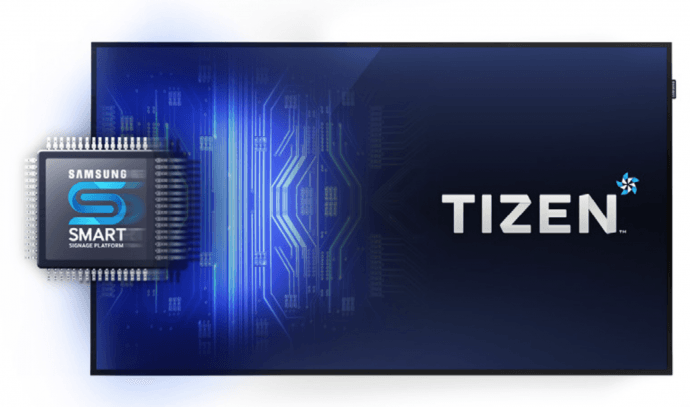 Samsung's New Smart Signs To Start Shipping With Tizen OS; Signagelive Says Good To Go