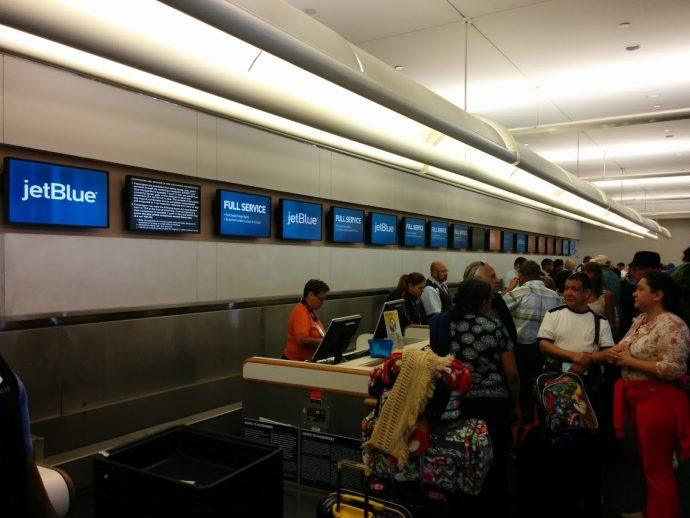 Orlando Airport Installing 1,561-foot Continuous Video Wall At Airline Counters