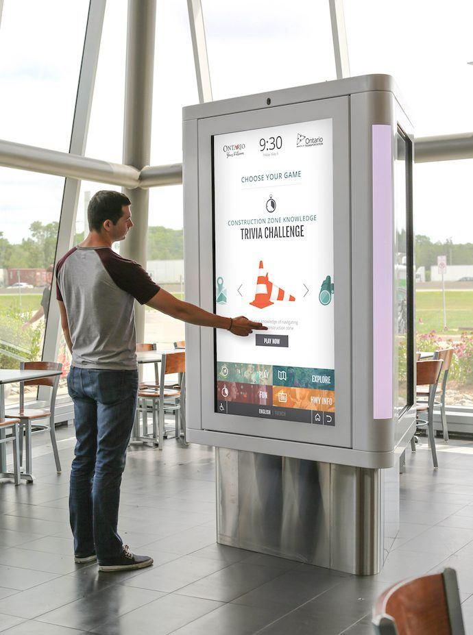 Projects: Canada's Busiest Highways Get Interactive At Travel Centre Stops