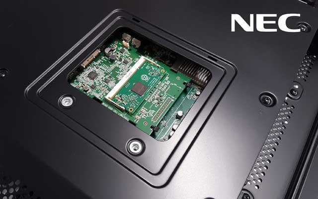 NEC Makes Its Displays Smart Using Raspberry Pi