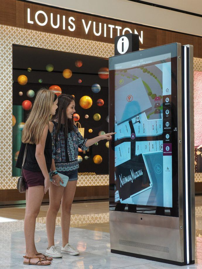 Simon Rolls Out Mobile-Friendly Interactive Stations Across US Malls