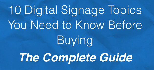 Skykit Releases Free Planning Guide For Digital Signage Projects