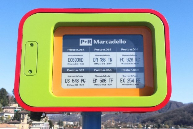 E-Ink Displays Used To Assign Parking For Swiss Car-Pool Commuters