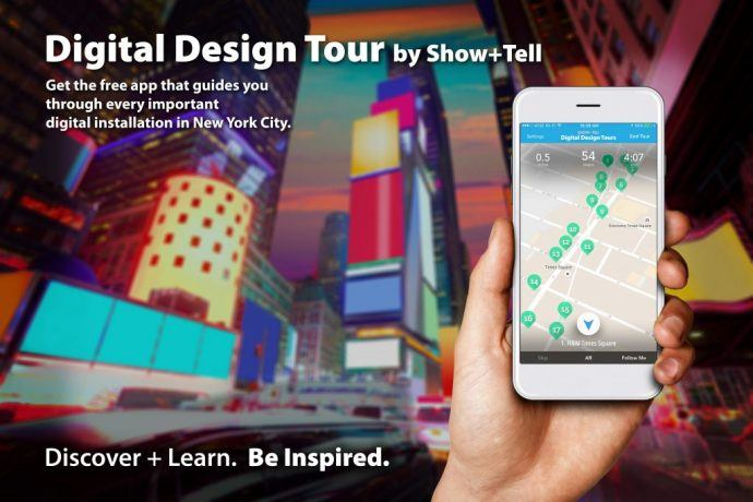 See All The Top Digital Display Installs In NYC With This Free Tour Guide App