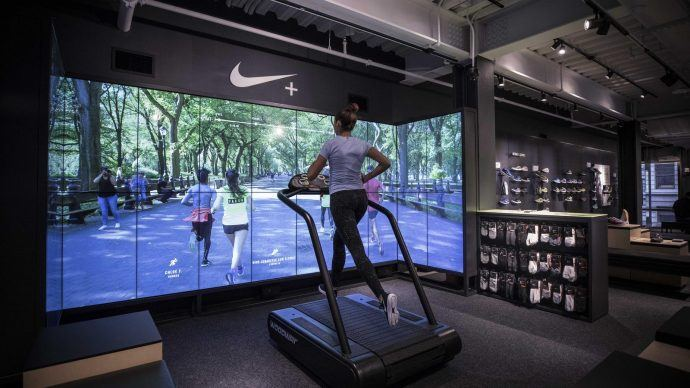 Nike Says It's Transforming Sports Retail With New SOHO Store