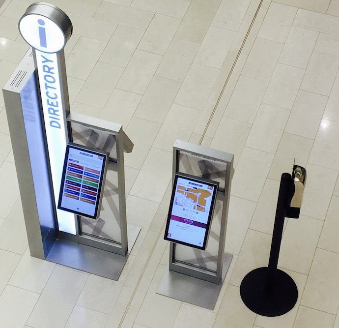 Projects: Mall Of America Adds Slim Digital Wayfinders