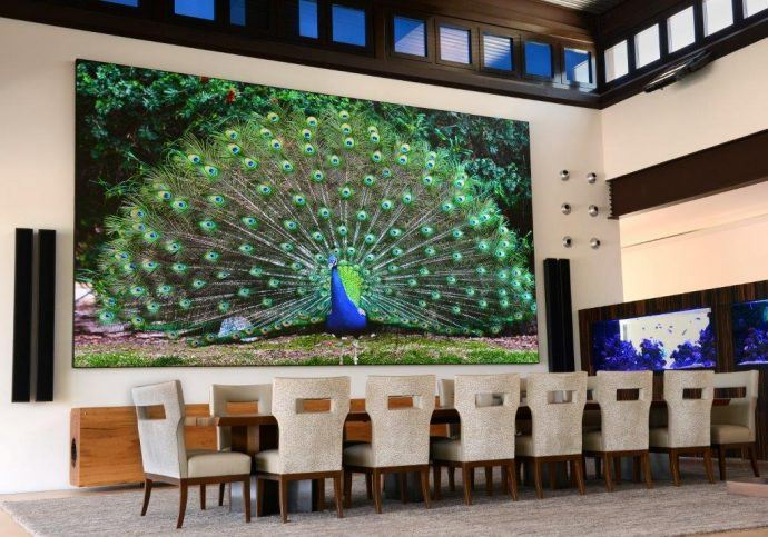 How About A Huge, Fine-Pitch LED Video Wall … In Your Dining Room?