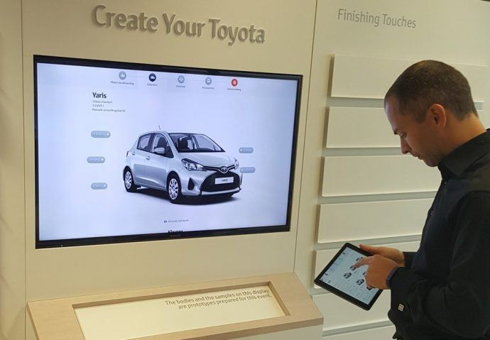 Toyota Rolling Out ChromeOS-Based Signage Network Across 3,000+ European Dealers