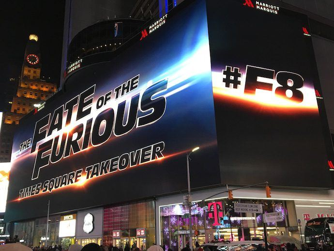 Action Flick Trailer Gets Debut Across 22 Giant LED Boards In Times Square