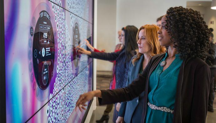 Ebay Creates Big Digital Experiences For New Silicon Valley Campus Welcome Center