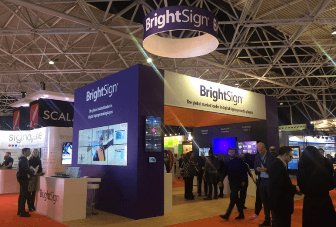 DSE 2017 Booth Previews: BrightSign