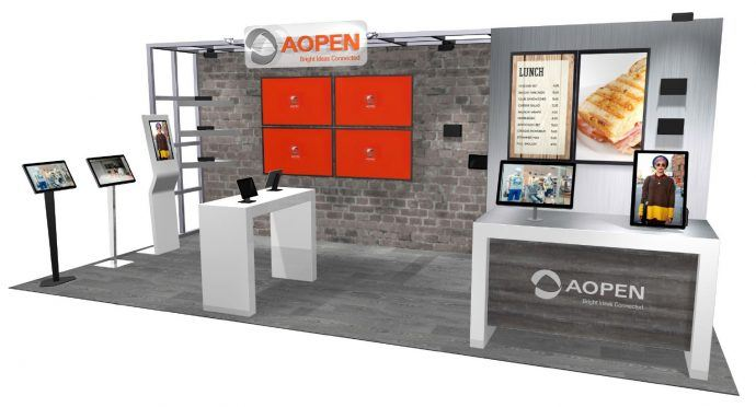 DSE 2017 Booth Previews: AOPEN America