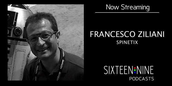 Sixteen:Nine Podcasts: Francesco Ziliani, Spinetix