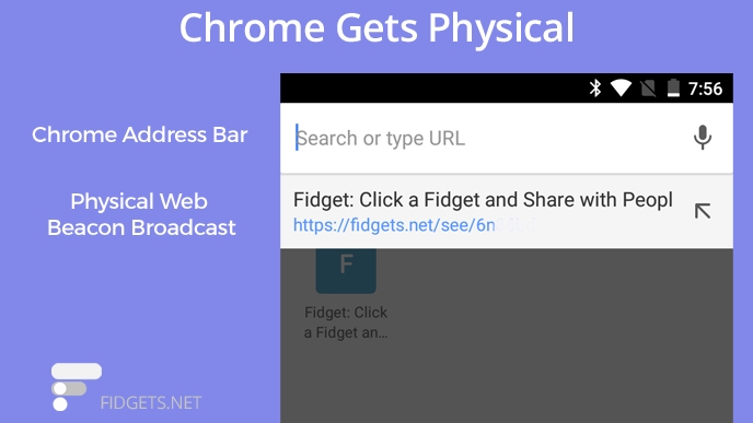 Browsing Google Chrome And The Physical Web