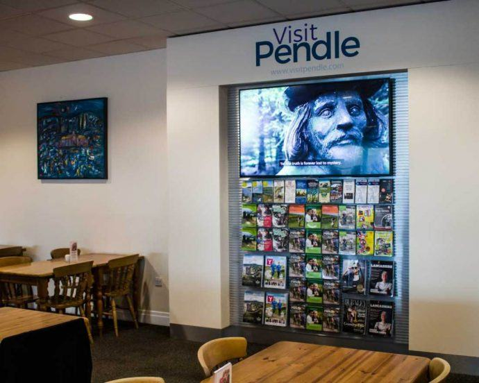Projects: Local UK Tourism Council Builds Digital Attractions Stand