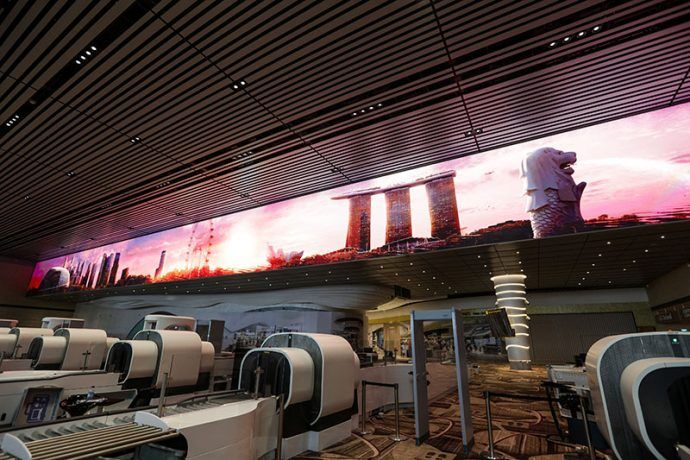 Changi Airport Previews Incredible 70-Metre Immersive LED Wall