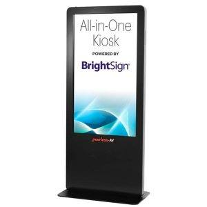Peerless-AV Debuts All in One Kiosk With Built-In BrightSign Player
