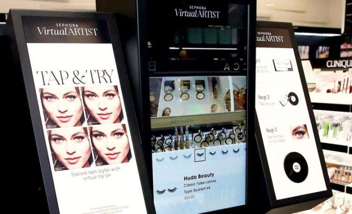 Snappy Virtual Try-On Make-Up Mirrors Boost Store Sales By Average 31 Percent