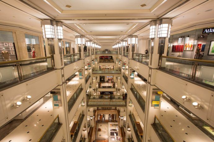 Chicago Mall Gets Stunning Makeover With Huge LED Canopy
