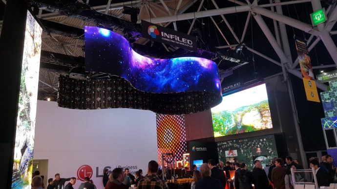 ISE 2018: Day 3 Impressions: SOC Screens Are Rolling Out In Volume