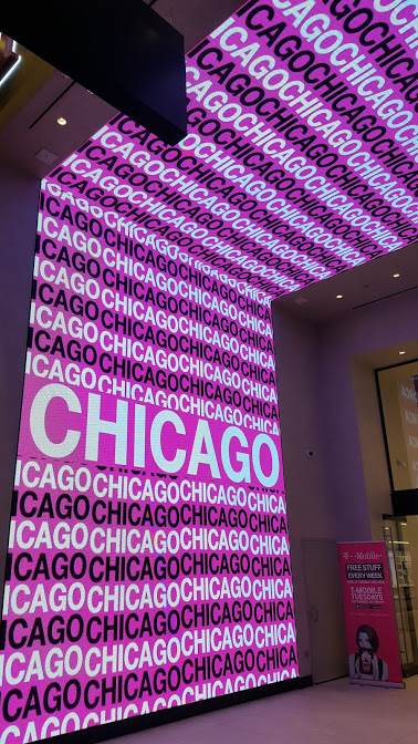 Photos: T-Mobile's LED-Rich Michigan Avenue Flagship