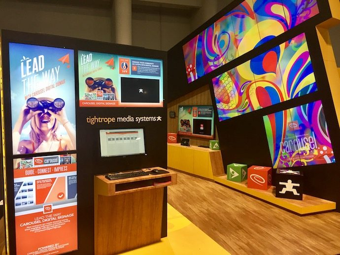 DSE 2018 Booth Previews: Carousel Digital Signage