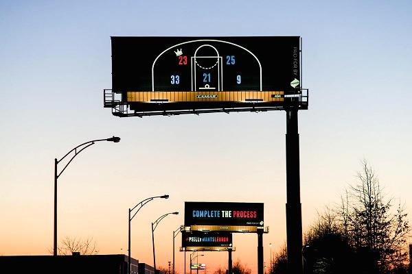 Billboards Part Of Battle To Woo Or Keep NBA Star Lebron James