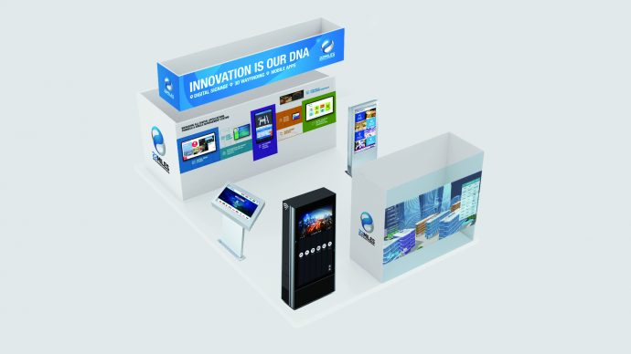 DSE 2018 Booth Previews – 22 Miles Digital Signage & Wayfinding