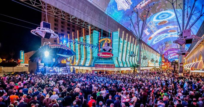 Fremont Experience LED Canopy In Las Vegas Getting $33M Refresh