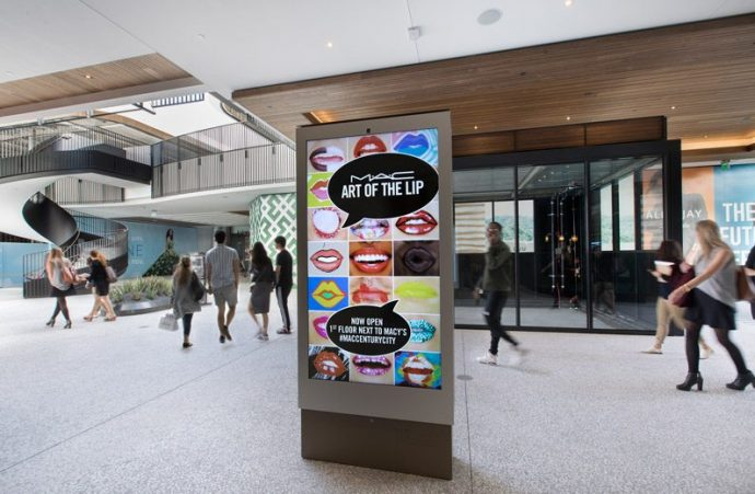 Broadsign To Drive 500 Digital OOH Screens Across Westfield's U.S. Mall Network