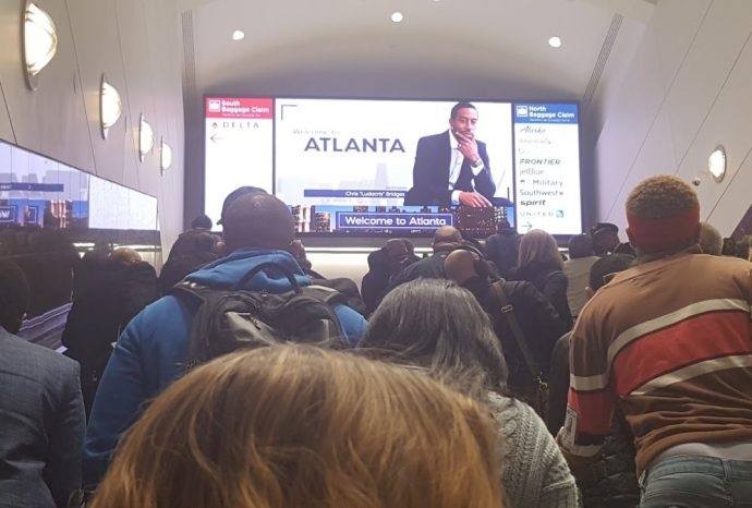 Projects: Big LED Greets Arriving Passengers At Atlanta Hartsfield