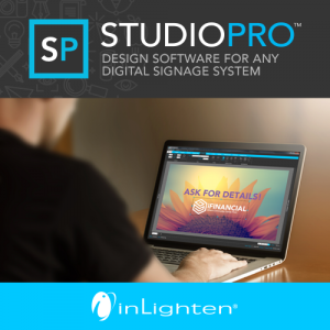 inLighten Release CMS-Neutral StudioPro Content Creation Tool For Digital Signage